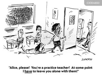 Classroom Management Cartoons and Comics funny pictures from Cartoon Collections