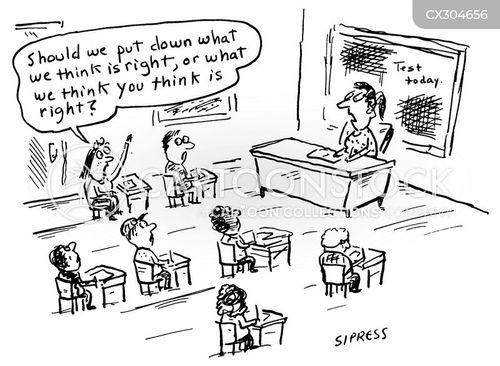 Examinations Cartoons