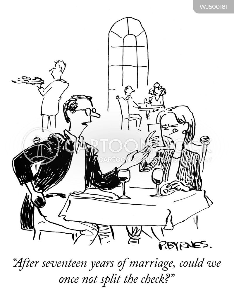 Joint Bank Account Cartoons And Comics Funny Pictures From Cartoonstock