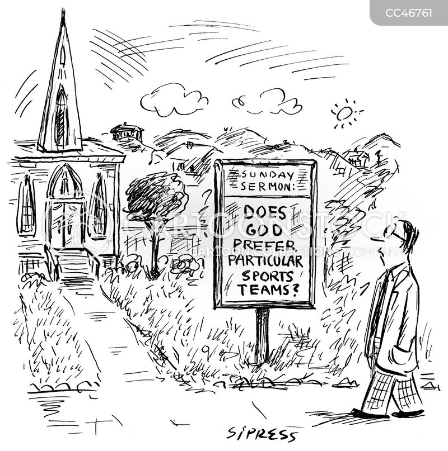 Sunday Worship Cartoons