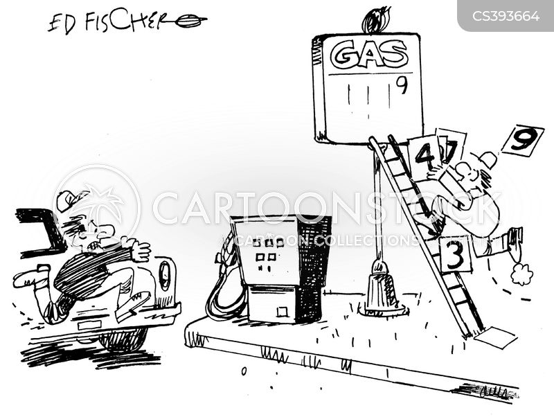 Oil Price Race News and Political Cartoons