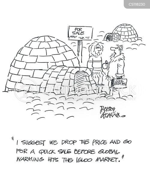 Igloo News and Political Cartoons
