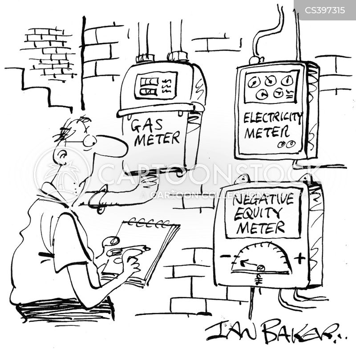 Negative Equity News and Political Cartoons