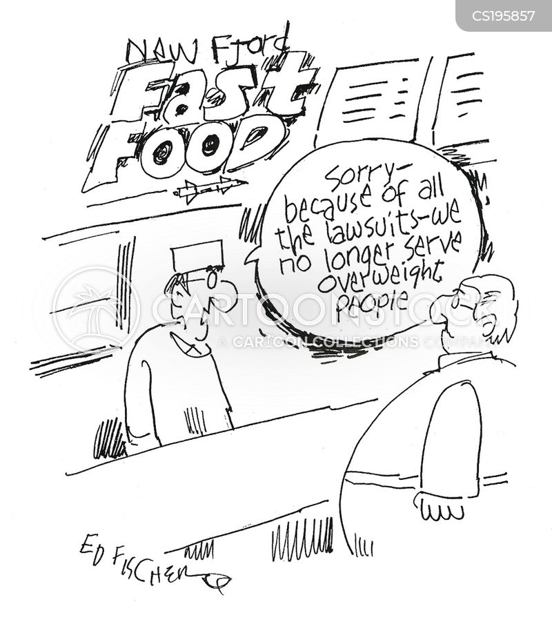 Healthy Eating News and Political Cartoons