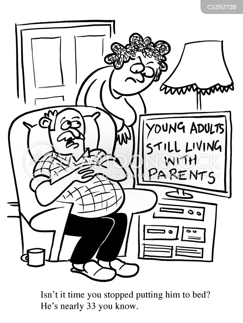 Youth Unemployment News and Political Cartoons