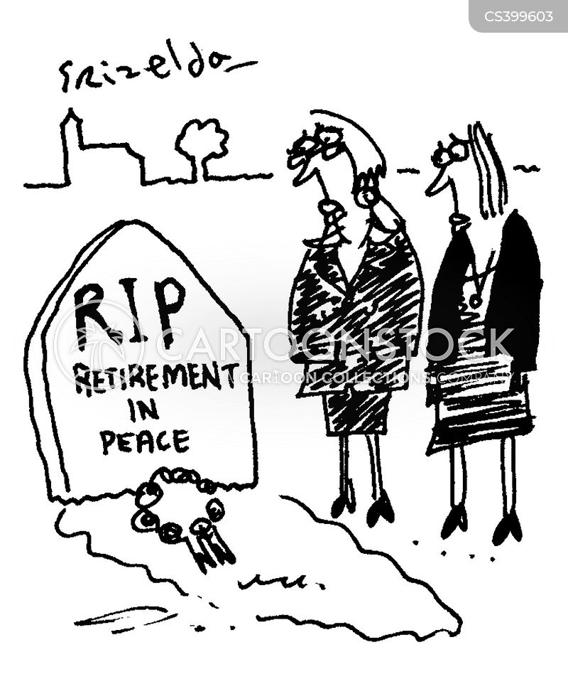 Retirement Ages News and Political Cartoons