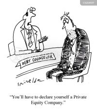 Private Equity News and Political Cartoons