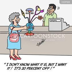 shopping shopaholic addict cartoon bargain cartoons funny comics discount special cartoonstock dallas texas dislike business