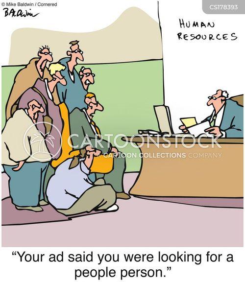 Human Resource Cartoons And Comics - Funny