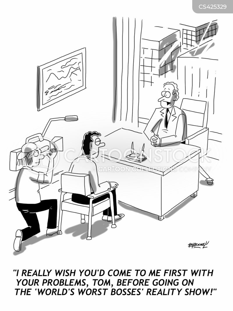 In The Workplace Conflict Cartoons Pictures to Pin on