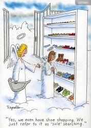 shoes shoe sole cartoon funny cartoons soles soul searching comics cartoonstock dislike illustration