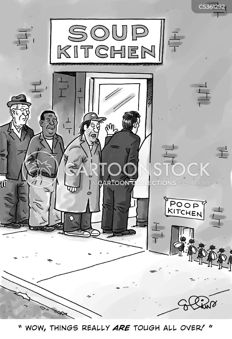 Soup Kitchens Cartoons and Comics  funny pictures from