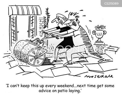 patio cartoons and comics - funny