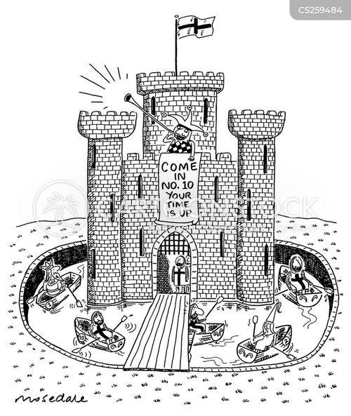 Door Castle Cartoon & Draw Bridge Cartoons And Comics