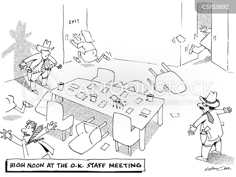 Staff Meeting Cartoons Pictures to Pin on Pinterest
