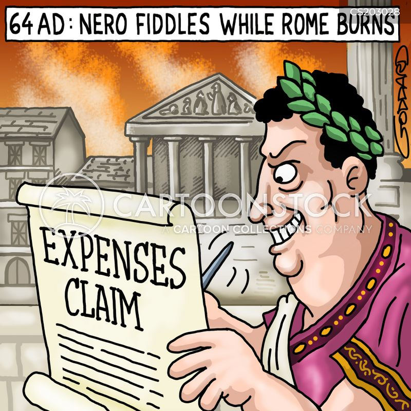 Image result for emperor fidlles cartoon