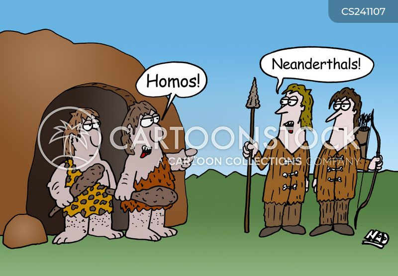 Homosapien Cartoons and Comics  funny pictures from