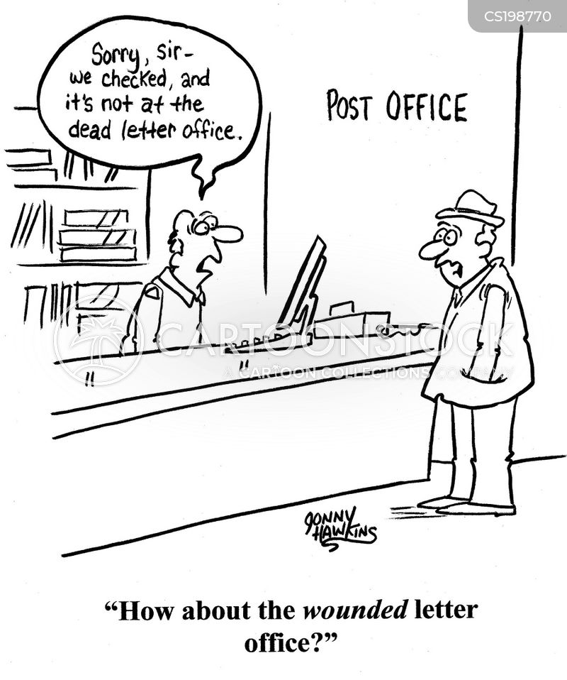 Correspondence Cartoons and Comics  funny pictures from