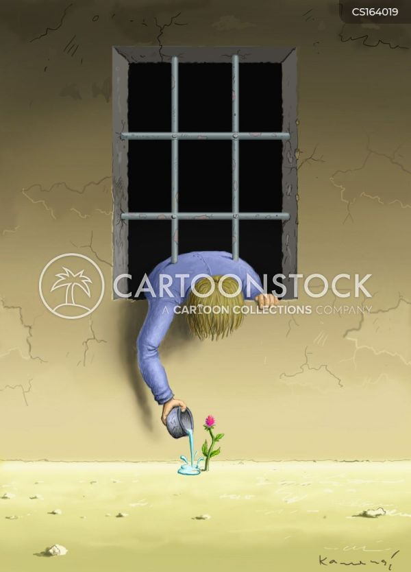 Prison Bars Cartoons And Comics - Funny