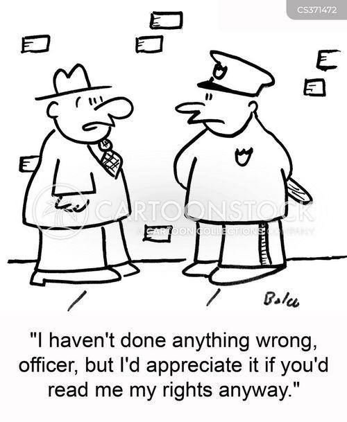 Viñetas de Policías