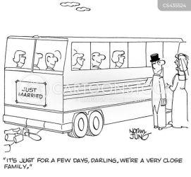 close alone cartoons cartoon funny cartoonstock comics honeymoons dislike relationships