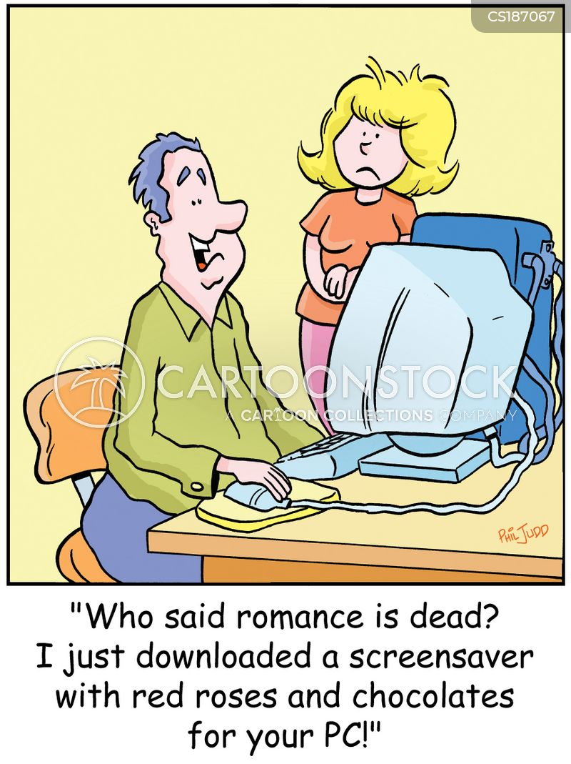 Romantic Gestures Cartoons And Comics Funny Pictures