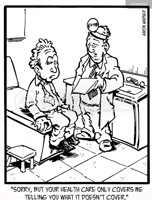 Health Maintenance Organization Cartoons and Comics