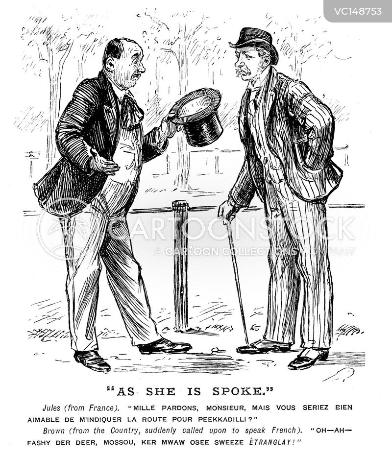 Frenchman Vintage and Historic Cartoons
