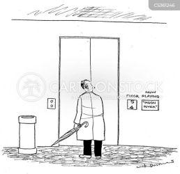 stairs lift music flight cartoon elevator funny comics cartoons musics choice cartoonstock dislike