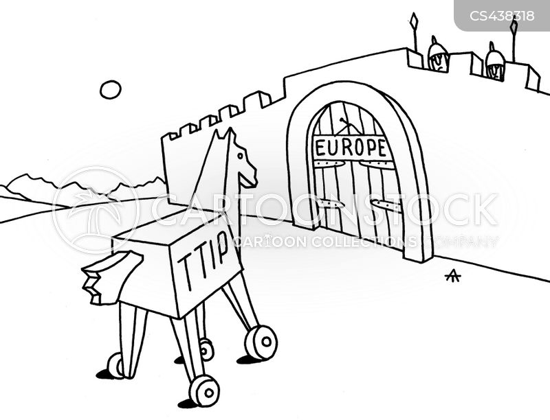 Trade Agreements News and Political Cartoons