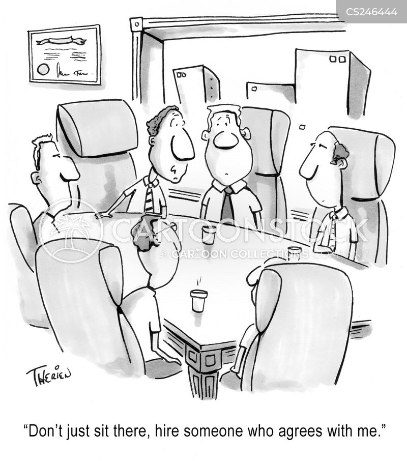 Boardroom Meetings Cartoons and Comics  funny pictures