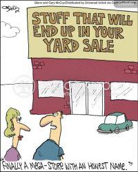 relieved cartoon authenticity funny cartoons comics shopping cartoonstock customer dislike