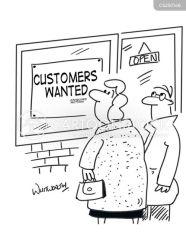 window job shopping cartoon cartoons openings funny opening customer cartoonstock street vacancy low retail comics dislike