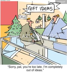 shopping christmas xmas cartoon cartoons funny comics minute last days let gifts begin till countdown cartoonstock yet friends dislike seasonal