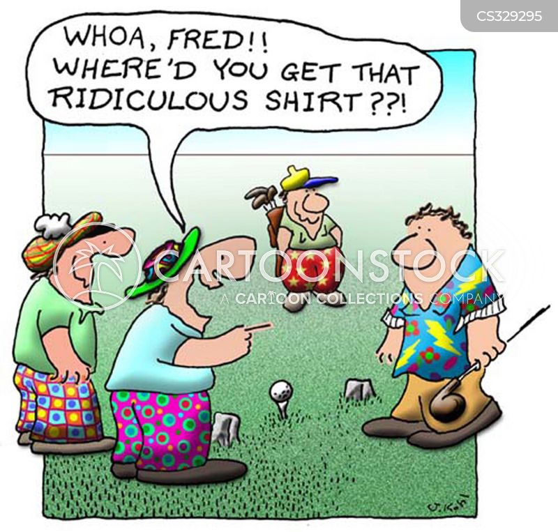 Golf Shirt Cartoons And Comics Funny Pictures From