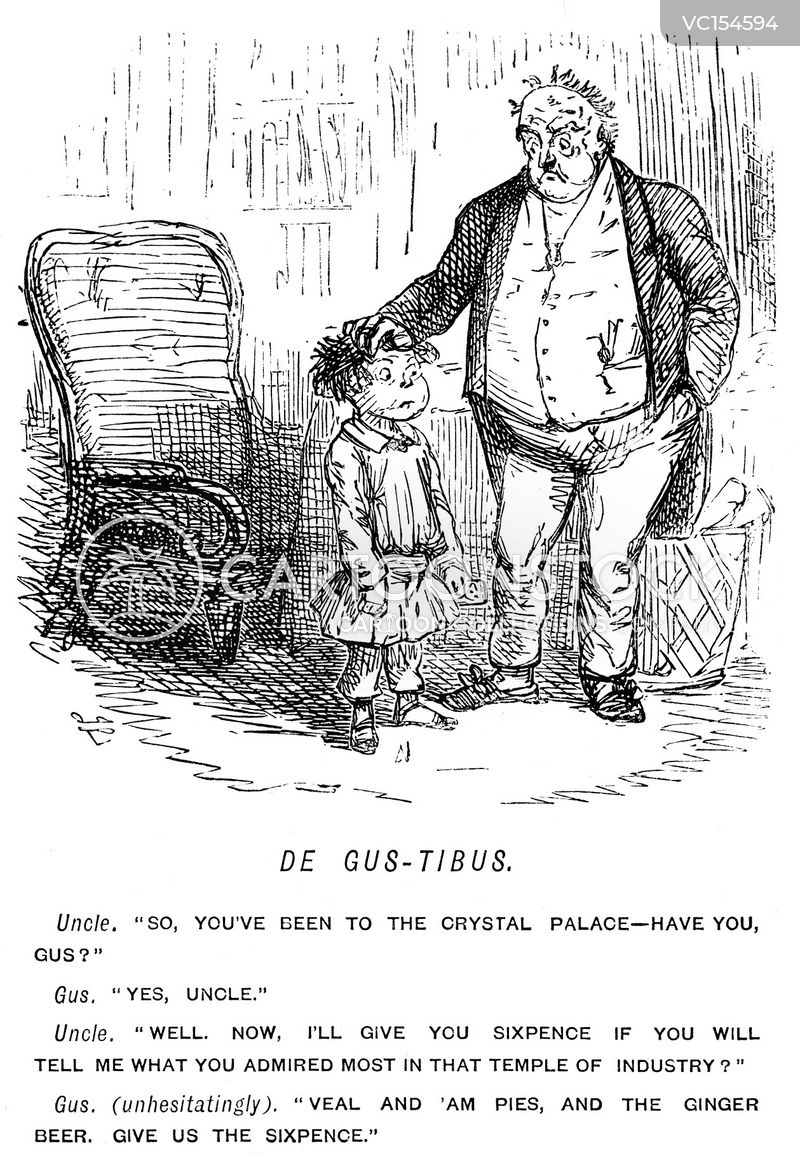 Ginger Beer Vintage and Historic Cartoons