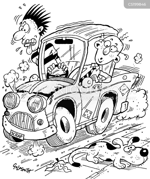 Cartoon Pics Car Engine Problems Cartoon Health Wiring