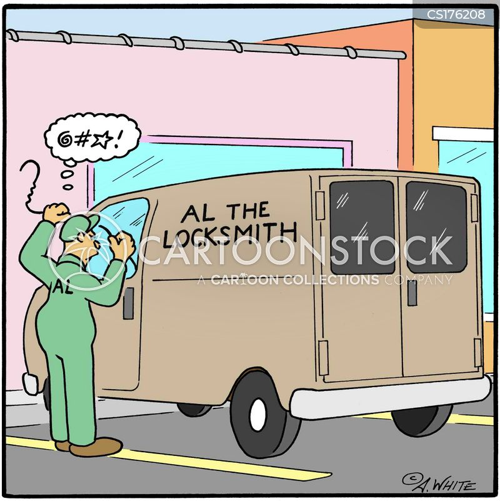 Blonde Jokes Keys Locked Car