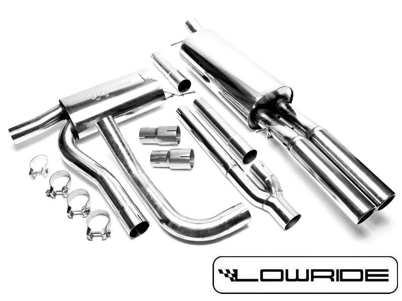 AUDI A4 B5 Sportowy Układ Wydechowy 2,5cala Catback