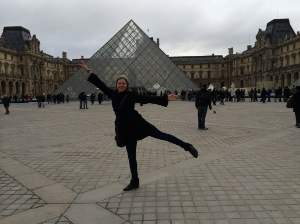 Dancing at the Lourve