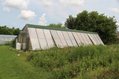 Greenhouse exterior.