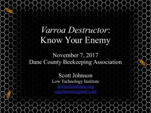 Varroa-DCBA-7Nov11-FrontPage