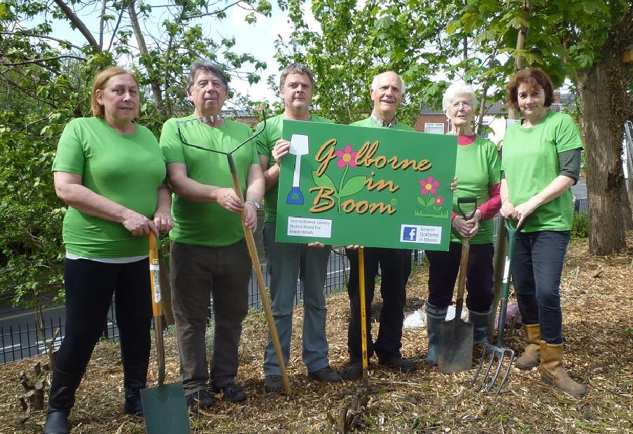 Volunteers from Golborne in Bloom