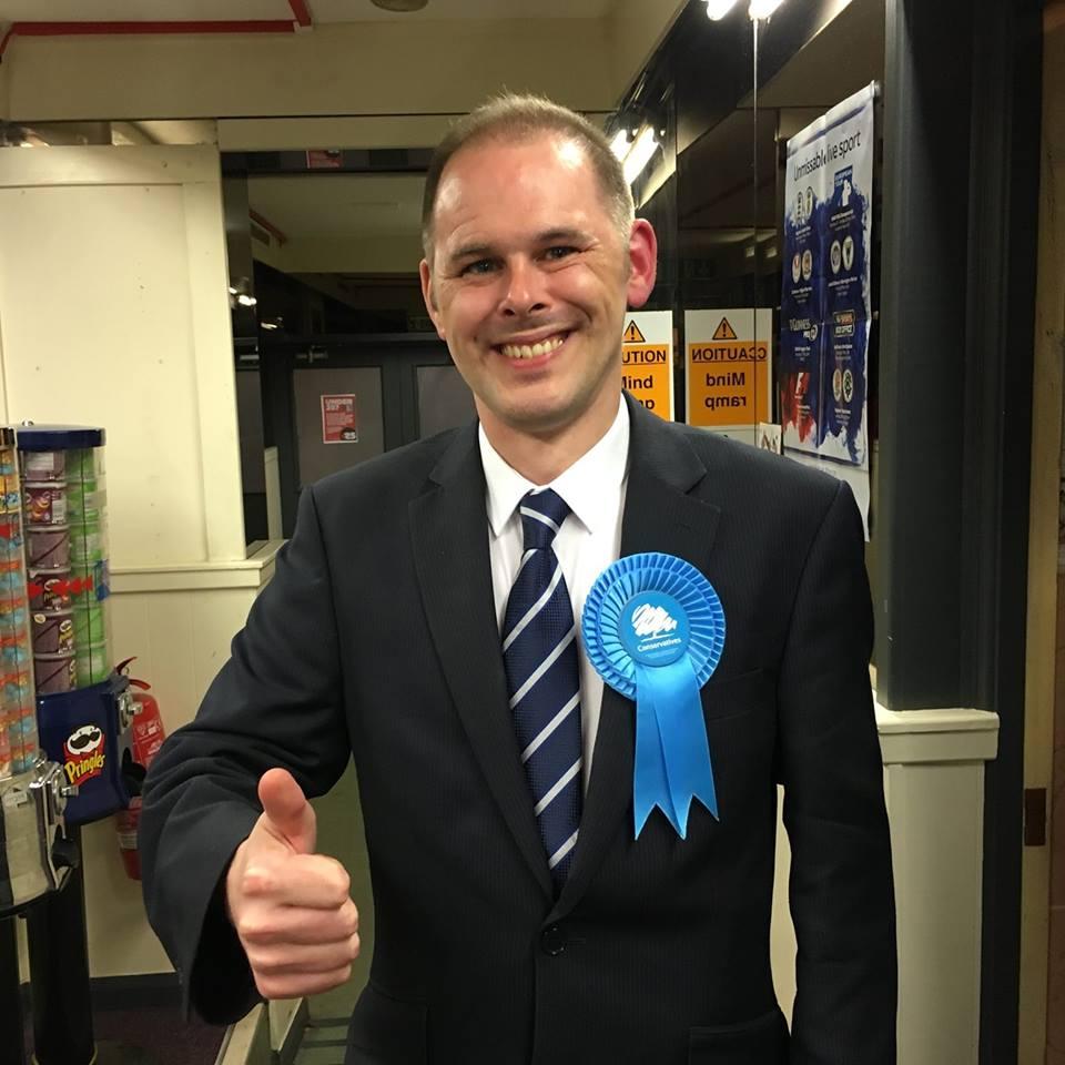 MP for Leigh, James Grundy