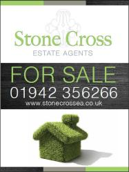 Stonecross Estate Agents sign