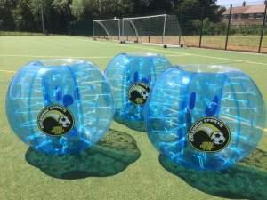 Bubble Footballs ready to go!