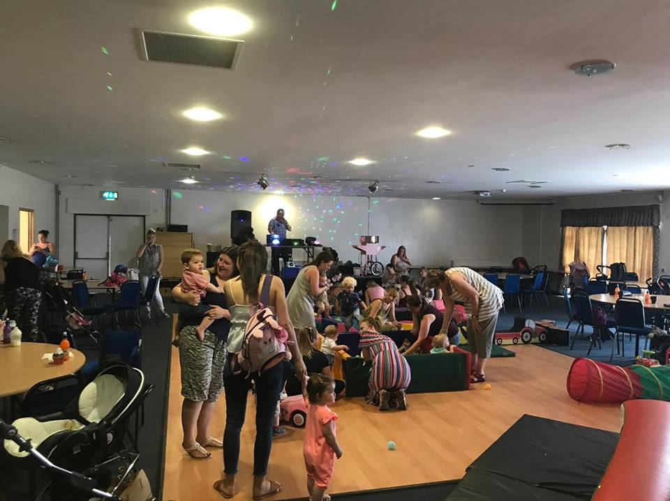 Tiny Tots Party at Golborne Parkside