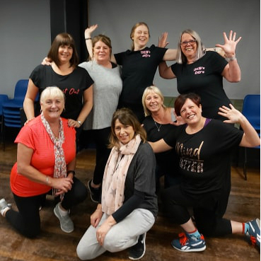 Debs DD's class in Lowton