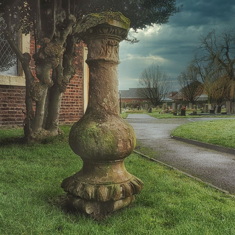 Sundial at St Luke's Church, Lowton