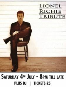 Lionel Ritchie tribute
